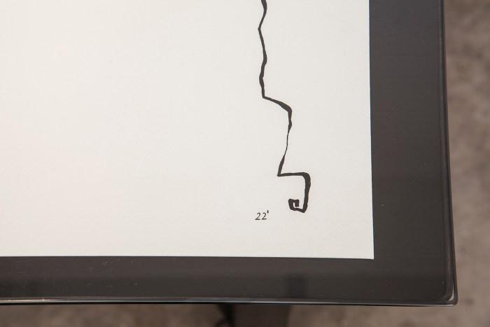 Detalles de Direcciones. Serie 1/5 Miguel Blesa-Bankia Tinta sobre papel