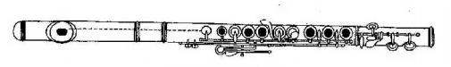flauta montada