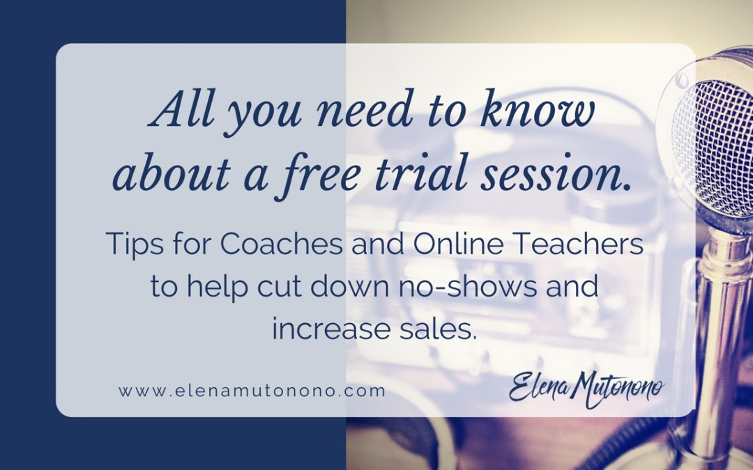 All you need to know about a free trial lesson