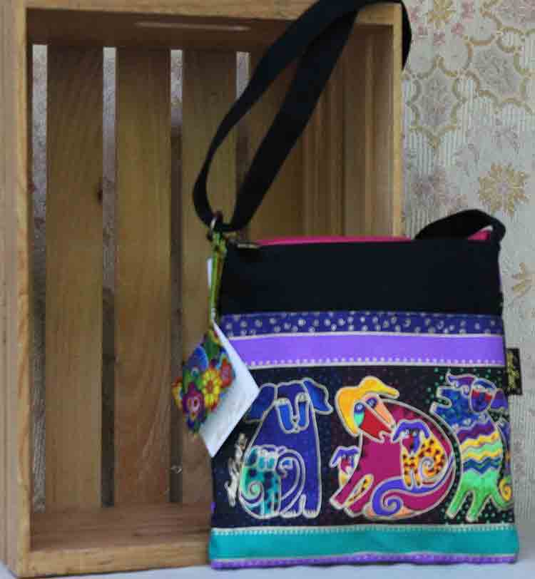 Laurel Burch bag Dog and Doggies LB2075