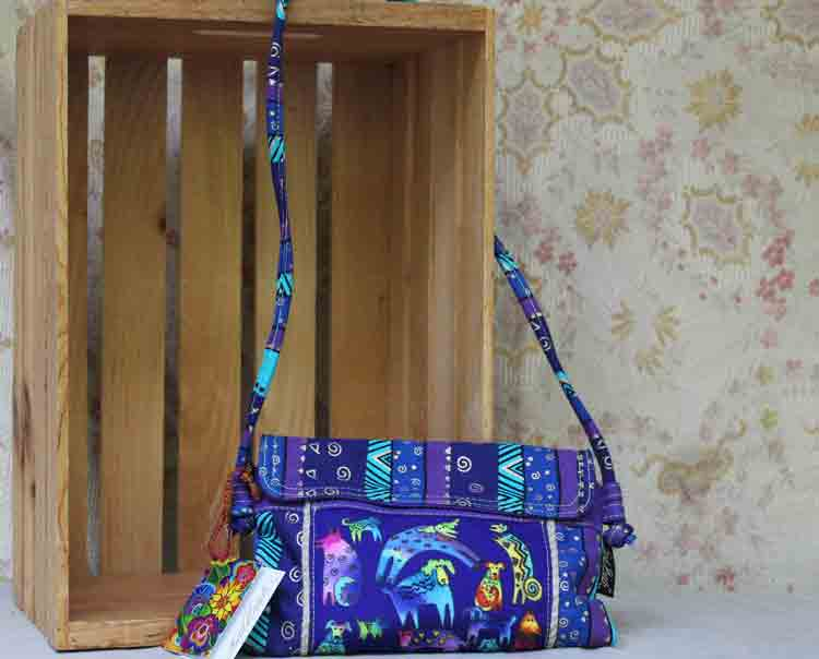 Laurel Burch bag Mythical Dogs LB5393