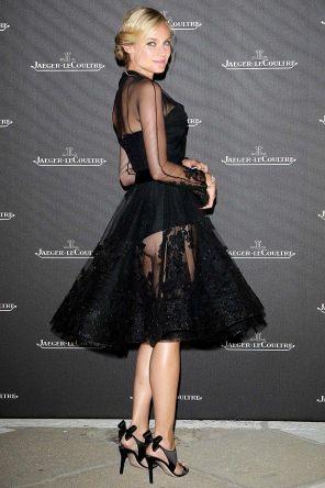 diane kruger black dress