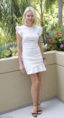 naomi watts ehite dress