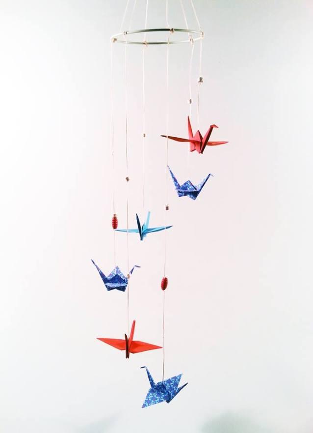 origami cocori vazduh
