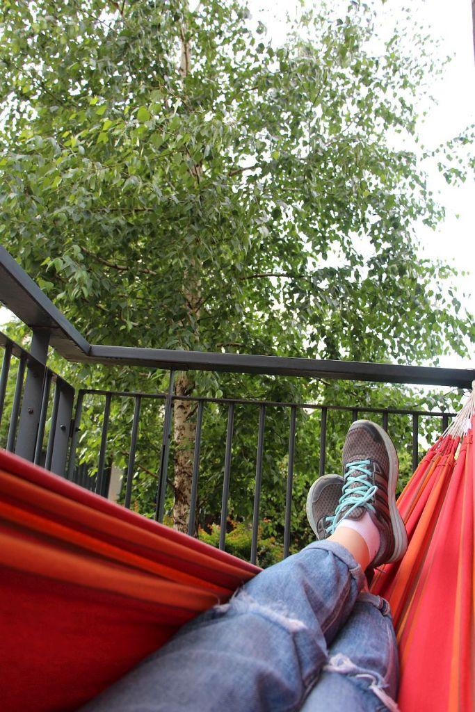 hamac in balcon