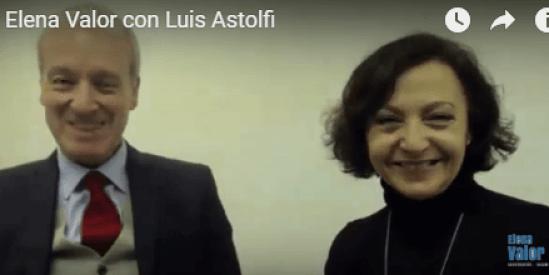 Luis Astolfi y Elena Valor
