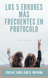 dESCARGA EL e-BOOK, ERRORES DE PROTOCOLO 1