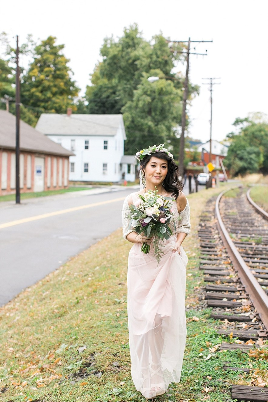 Yuki & John, Roundhouse Beacon Wedding Sneak Peek - Elena