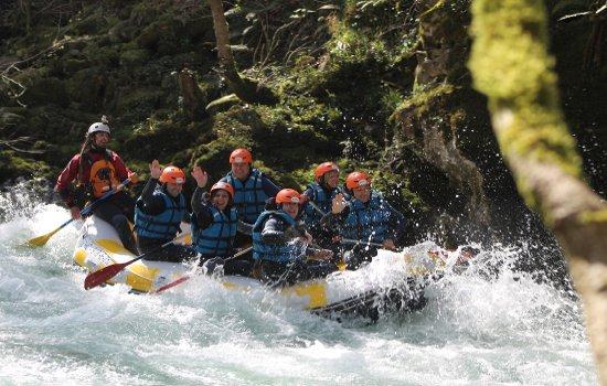Rafting en el Sella con loscauces.com