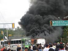 Burning Buses, Barricades