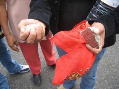 Rocks in Hand