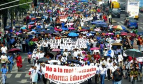No a la mal llamada reforma educativa