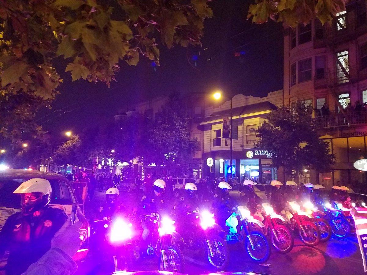 police-bikes-sf-oaxaca-protest