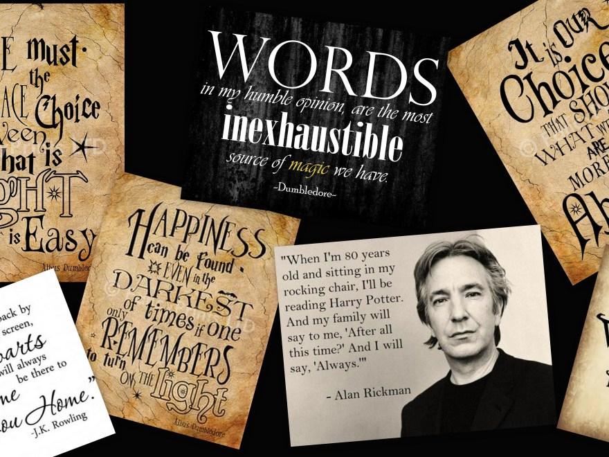 Desktop - Harry Potter quotes
