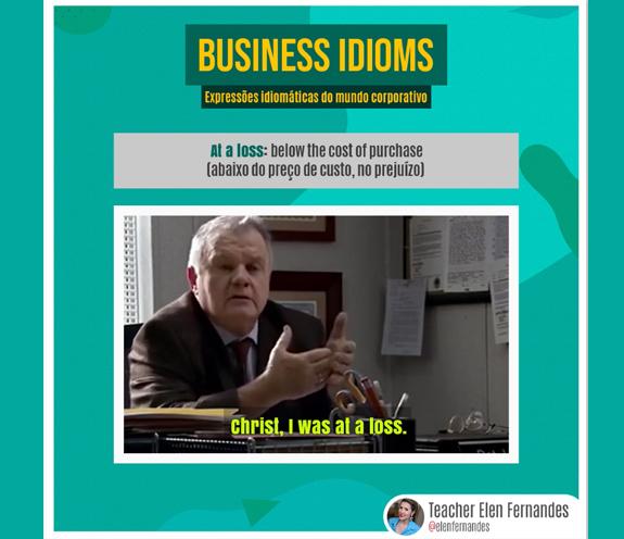 """BUSINESS IDIOMS AT A LOSS - Business Idioms: """"At a loss"""""""