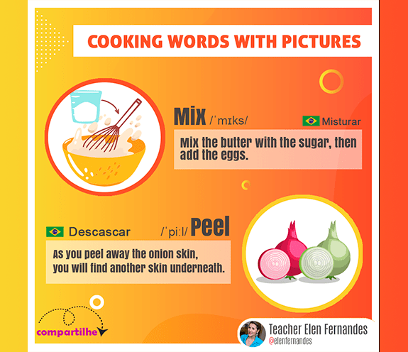 BLOG COOKING WORDS 04 - Cooking words with pictures #04