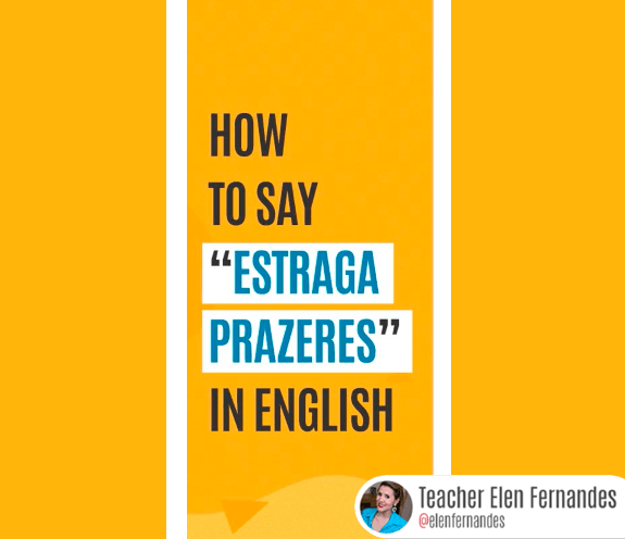 """BLOG COMO SE DIZ ESTRAGA PRAZERES - Como se diz: """"estraga prazeres"""" em inglês?"""