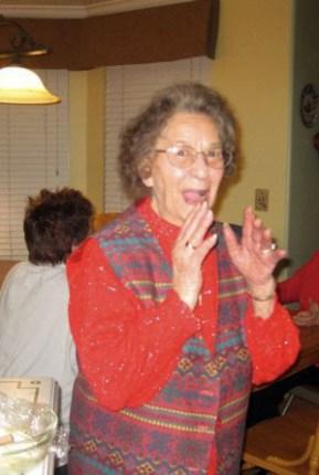 Aunt Mary, 95, teaching how to make loukoumades