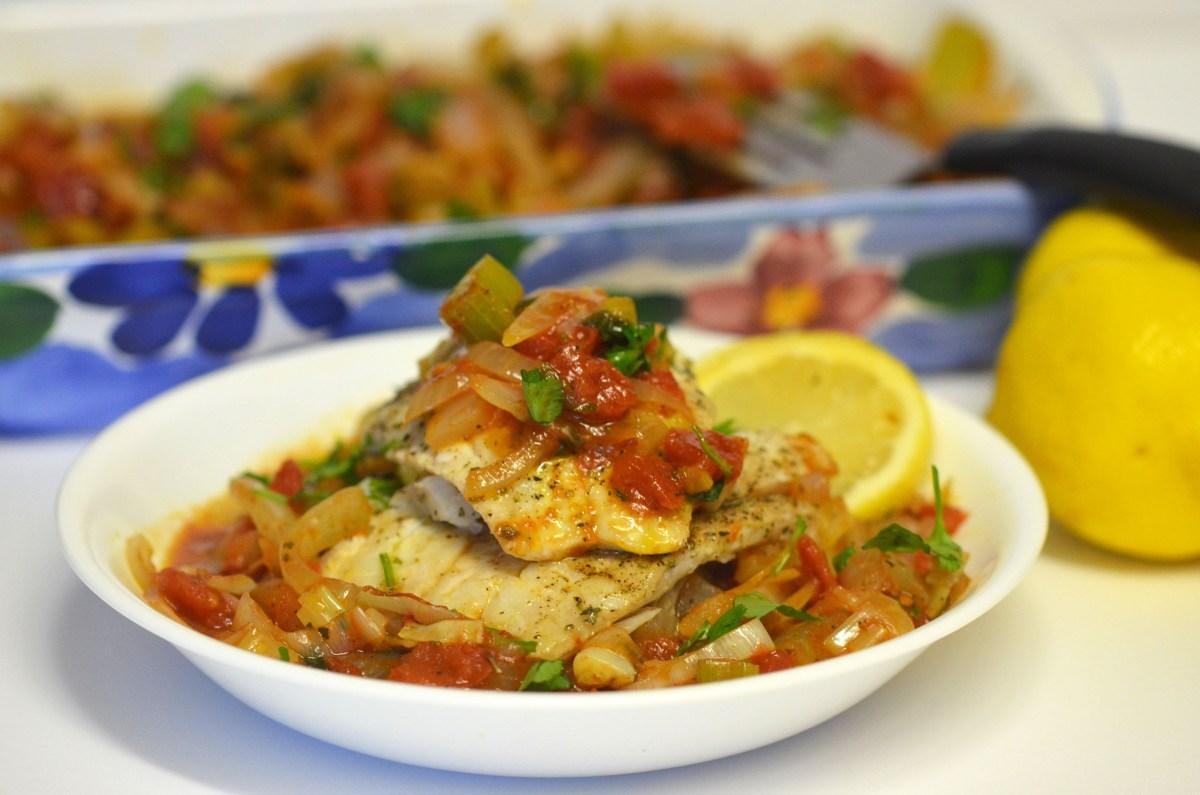 Psari Plaki (Baked Fish)
