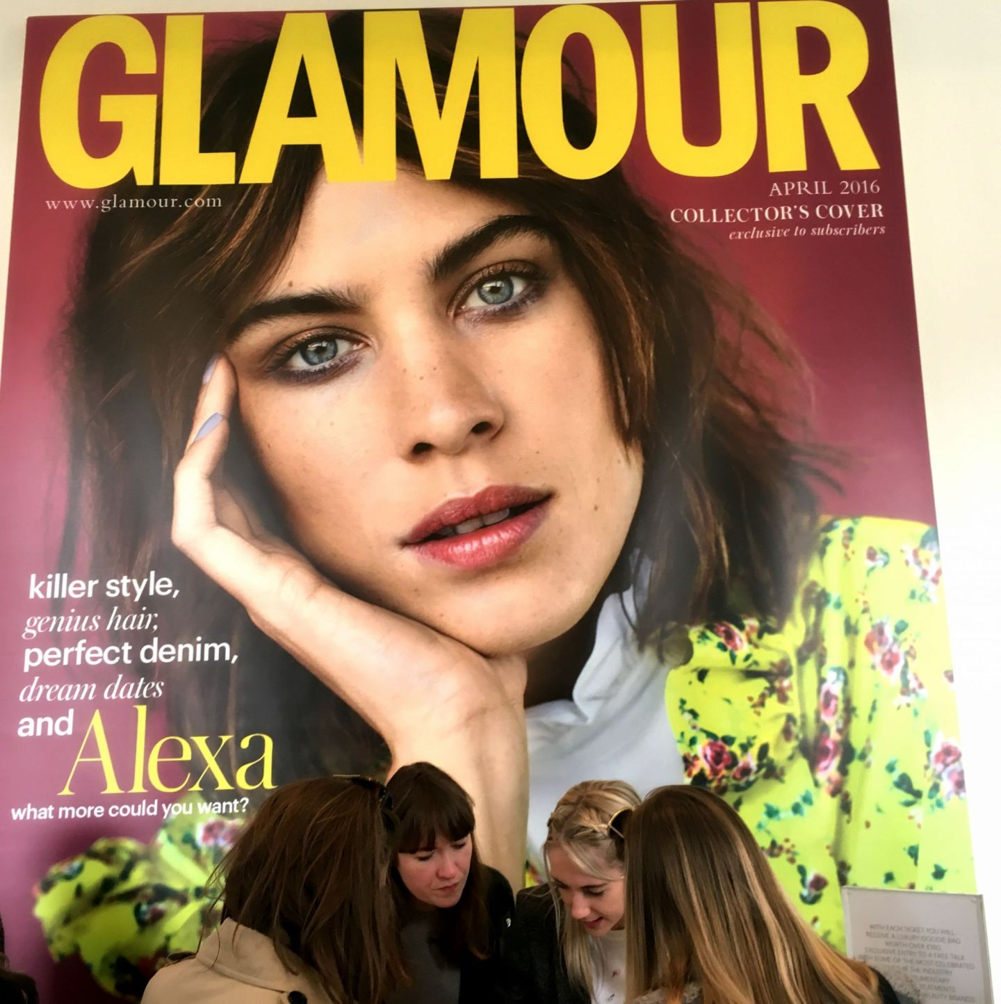 Eleni's World at the Glamour Beauty Festival
