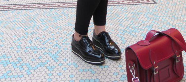 Bershka Chunky Loafers