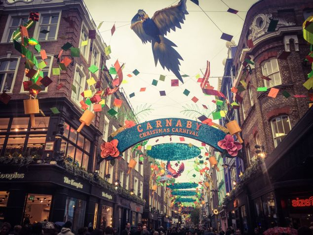 Christmas Carnival Carnaby Street