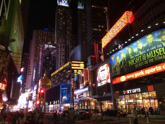 Christmas Tag-New York