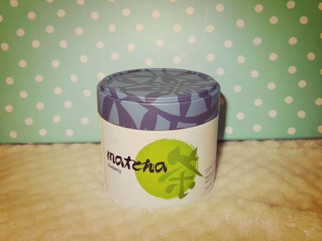 Adagio Teas Matcha Blueberry