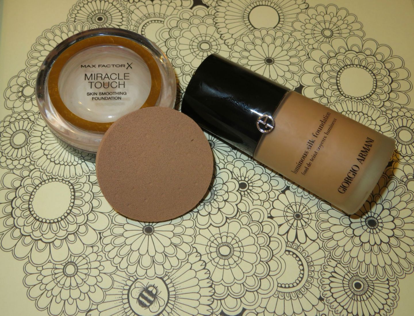 Armani silk luminous foundation