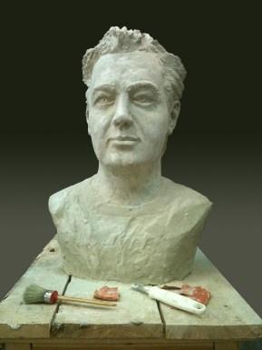 Dr Fotis Georgiadis 60Χ33Χ25 cm Plaster, 2011