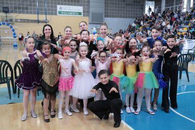 Il gruppo Danza Sportiva Junior