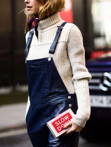 London Fashion Week street style. Photo by Kuba Dabrowski - wwd.com