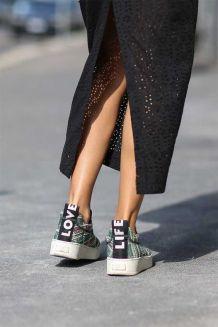 Love Life sneaker Celine - Milan FW - elleuk.com