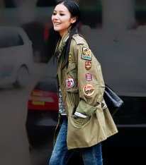 Cargo Jacket Patches - Photo: Stockholm Street Style - whowhatwear.co.uk