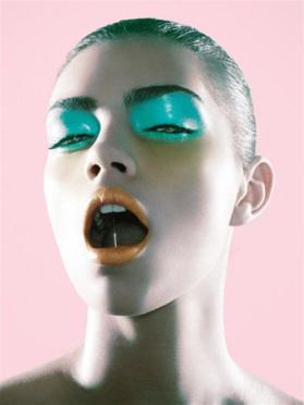 Slice of Spit - 2003 - Photography by Chen Man - fashionmagazine.com