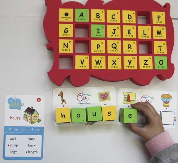 字母 ABC 教具 英文字母 骰子