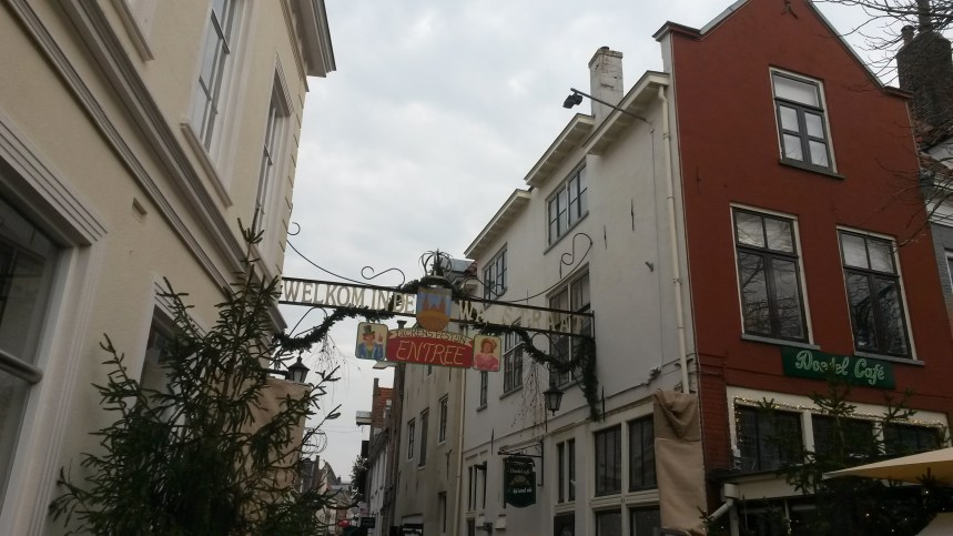 Entrance to the Dickens Festijn