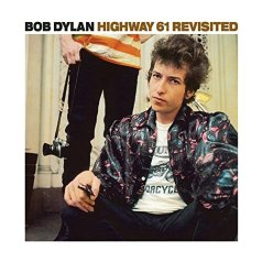 "Carátula de ""Highway 61 Revisited"" de Bob Dylan"