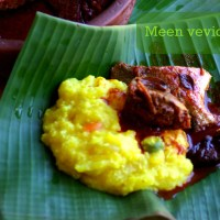 Meen vevichathu / Kerala style Red fish curry / Pompano fish curry Kerala style