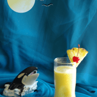 Pina colada (non alcoholic version) / Virgin Pina colada / Summer recipes