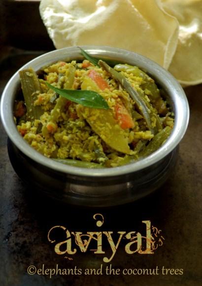 Thumbnail for Aviyal / Avial / Kerala style Aviyal / Sadhya special Aviyal