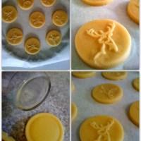 Sugar cookies / Reindeer cookies/ Impression cookies