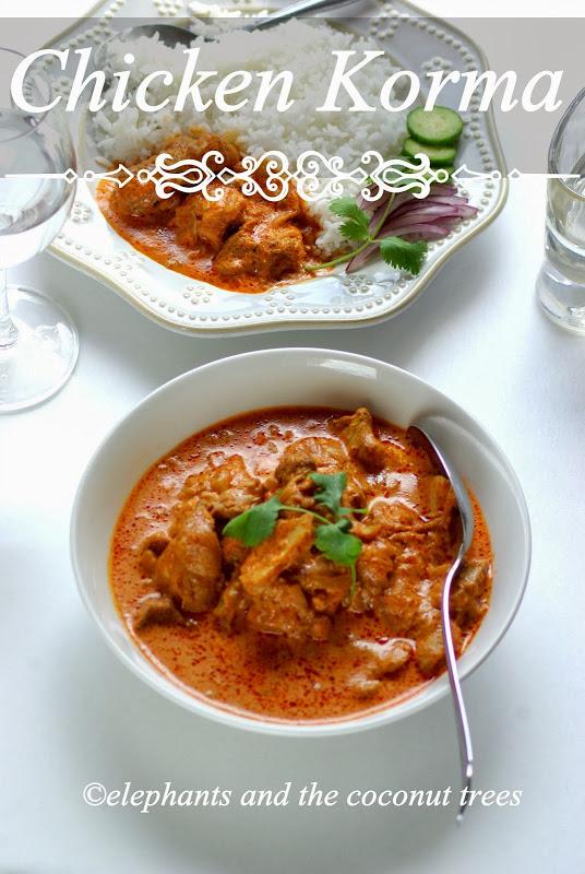 Chicken Korma Shahi Chicken Korma Mughlai Cuisine Guest Post