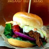 Shredded Beef Sliders