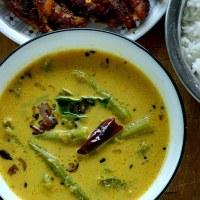 Cheera thandu curry / Amaranth Stem Curry