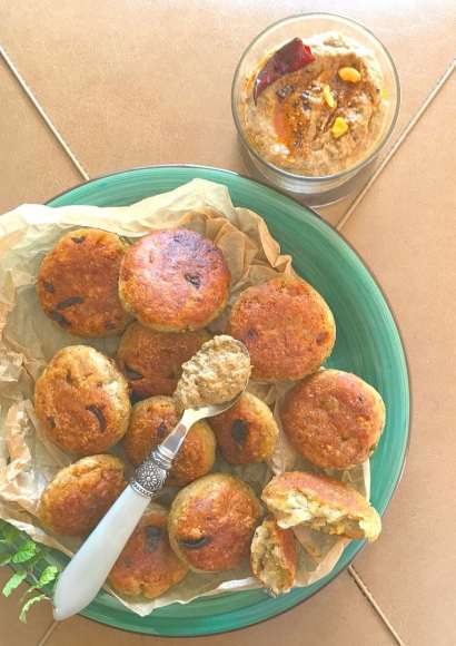 Thumbnail for Kabab with raw plantain/ Kele ke kabab/ Raw plantain cutlet