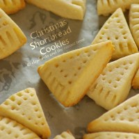 Christmas Shortbread Cookies (Without cookie cutter)