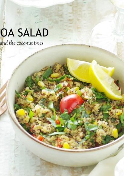 Thumbnail for Quinoa Salad ( Zero oil recipe)