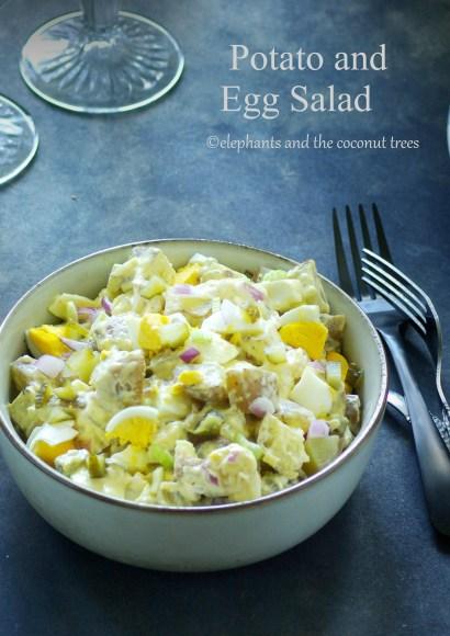 Thumbnail for Potato and Egg Salad using Instant pot