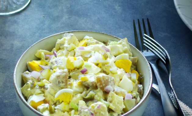 potato egg salad
